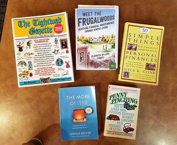 great frugality books
