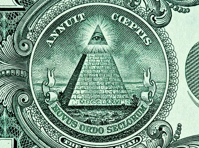 pyramid eye dollar bill