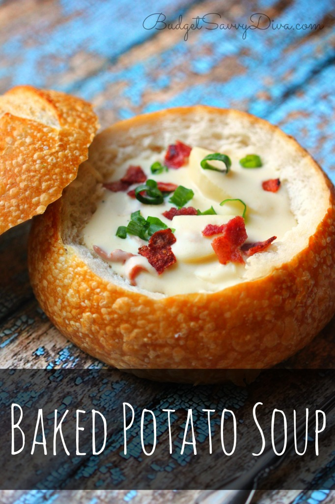 Baked Potato Soup Recipe - Marie Recipe