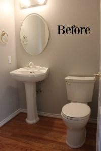 How To Decorate A Half Bath | Budget Savvy Diva