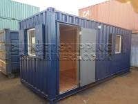 20ft Shipping Container Office (Nearly New)