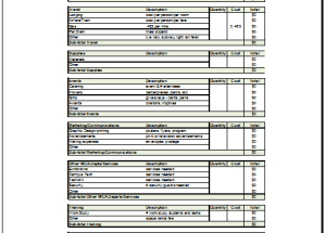Project budget planner template - Budget Templates for Excel