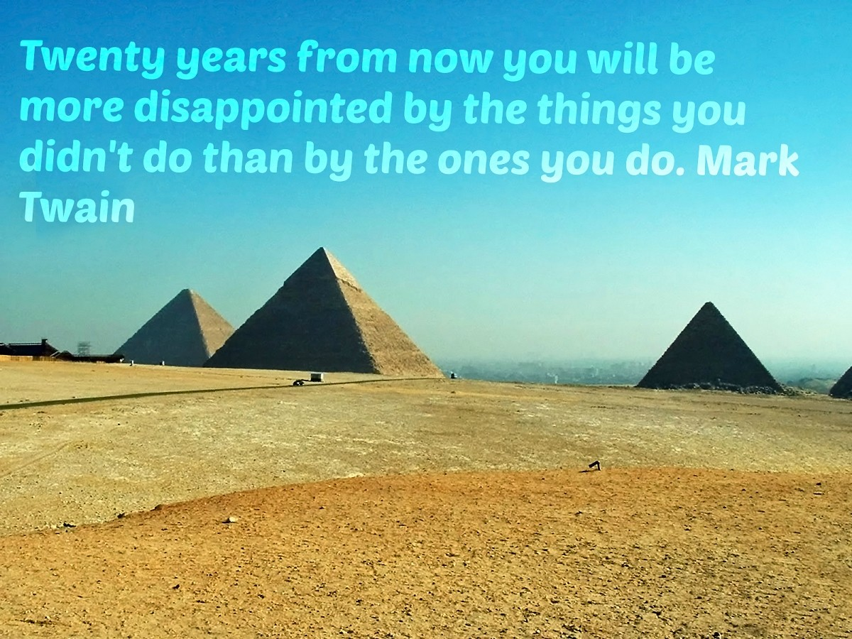 Quote About Travel Egypt