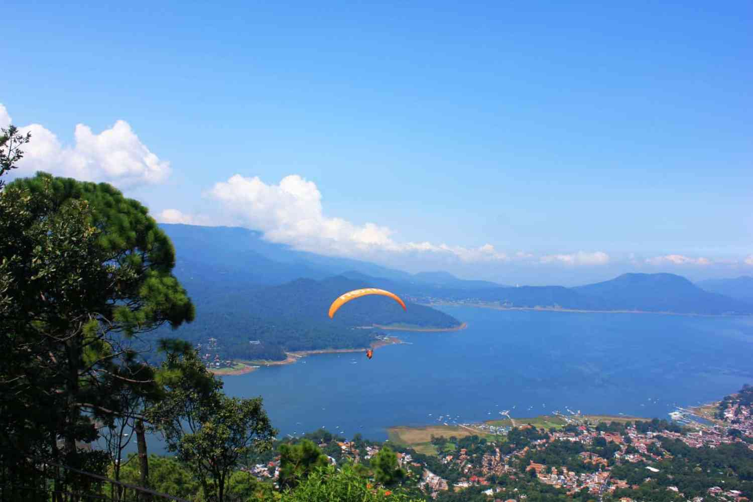 Paragliding in Mexico