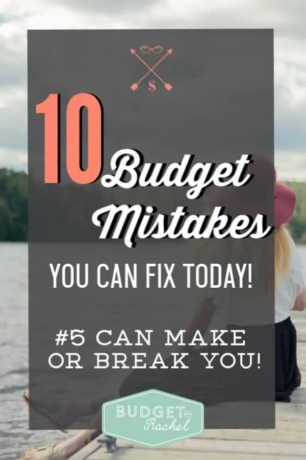 Budgeting for beginners common mistakes to avoid | budgeting mistakes people make that can be avoided | budgeting tips | money management tips | personal finance | finance tips | mistakes new budgeters make #budgettips #budget #moneymanagementtips #financetips