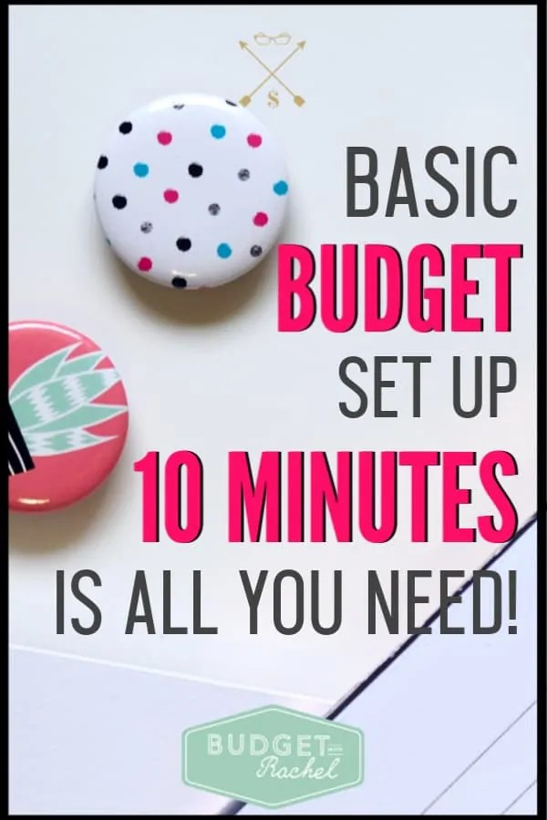 Setting up a budget can be overwhelming. I am so glad I found this. I seriously set my budget up in 10 minutes! I went from totally unorganized to budget pro. I love these budget tips and tricks! Budgeting for beginners doesn't have to be scary. This makes it simple!