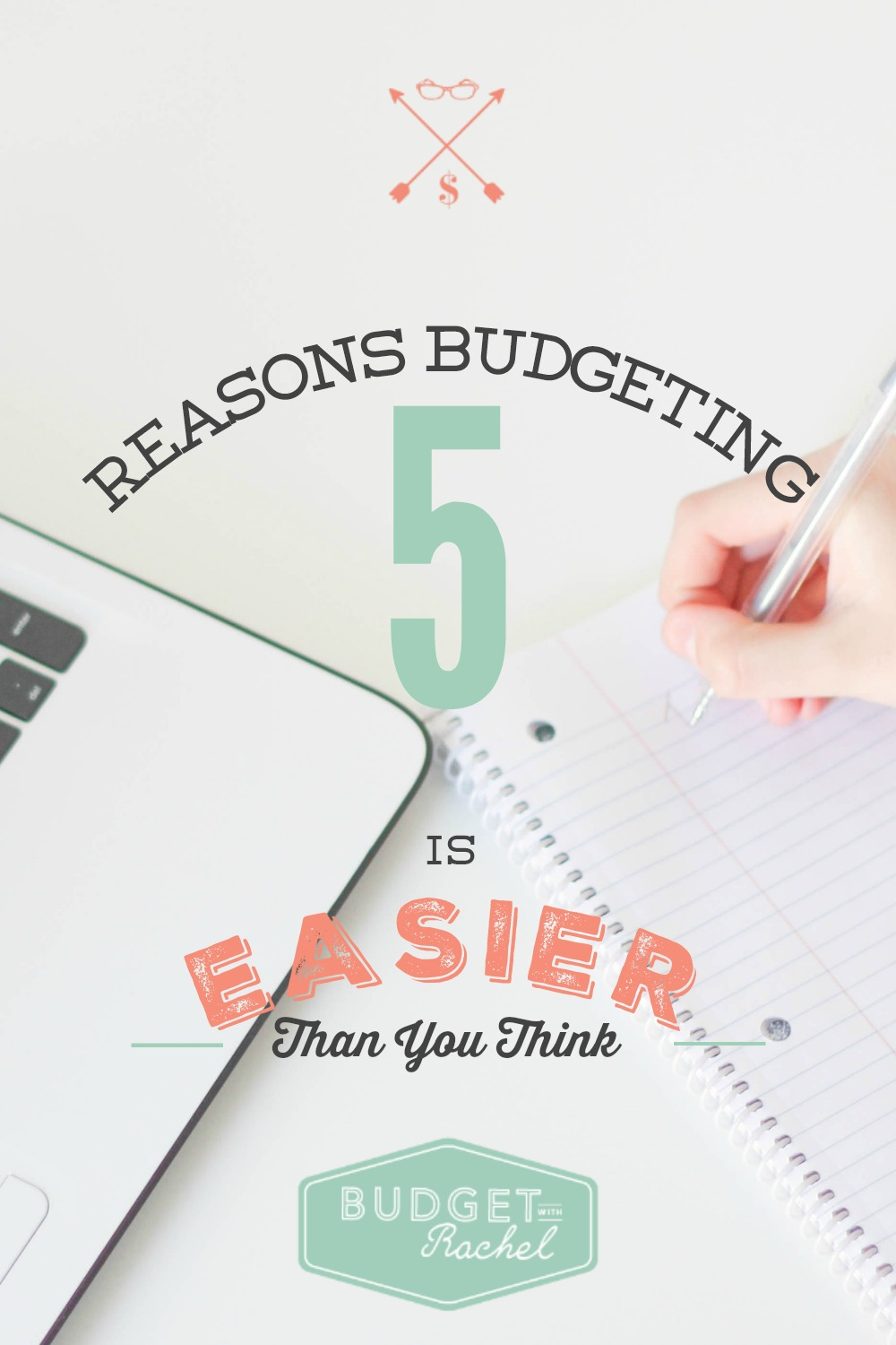 5 Reasons Budgeting is Easier Than You Think. These are all so true!! I knew a couple of these, but #5 is my favorite! This is a great reminder when I'm getting frustrated with my budget. It is way easier than I thought it would be.