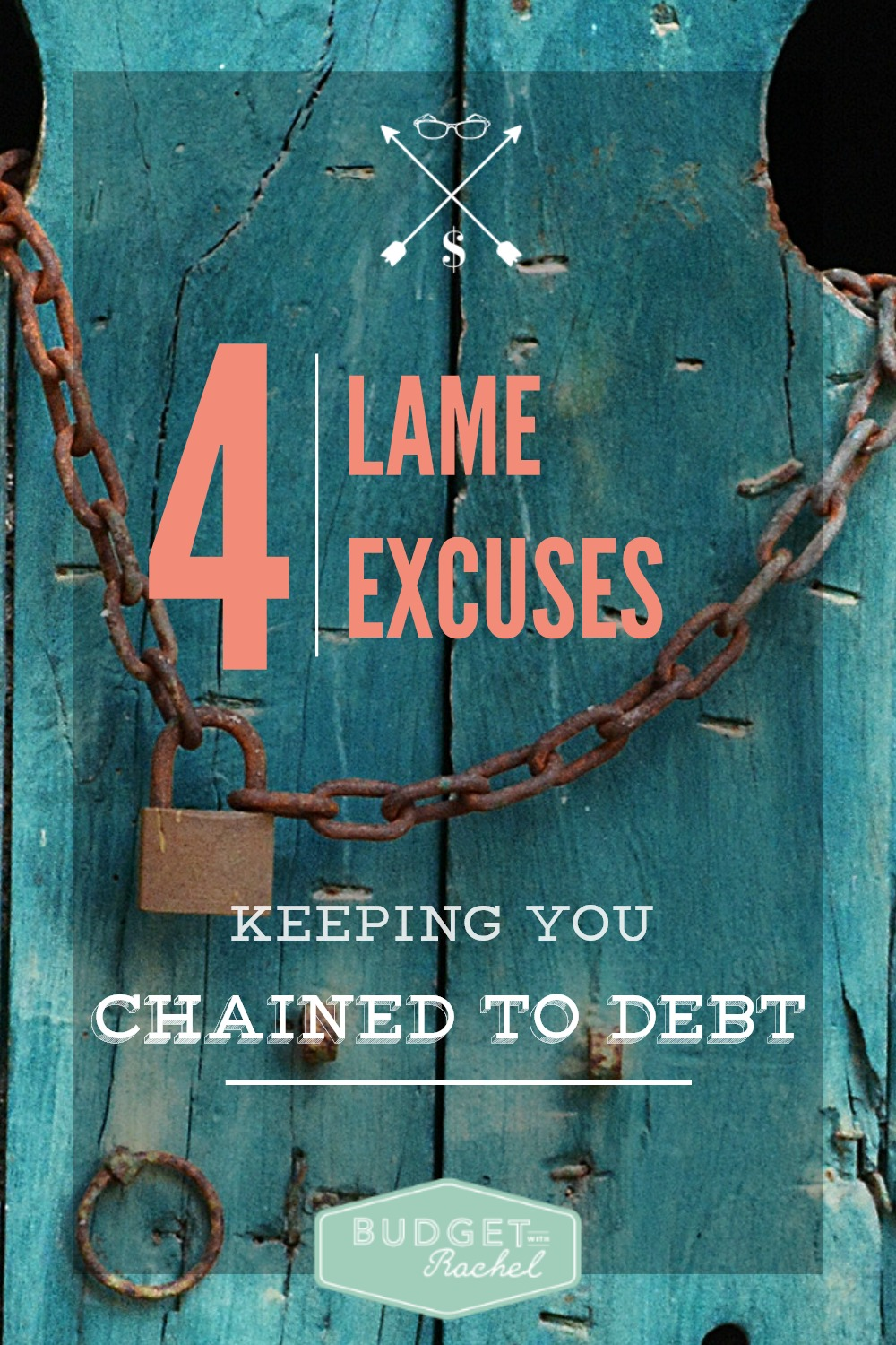 4 Lame Excuses People Use to Avoid Paying Off Debt. I didn't even realize I was using #4 as a reason to avoid paying off debt. This has been so eye-opening, and I needed to hear this! My husband was holding on to #1 and #2 so it has been awesome to talk about it decide to stop making excuses! This has been so motivating for us!!