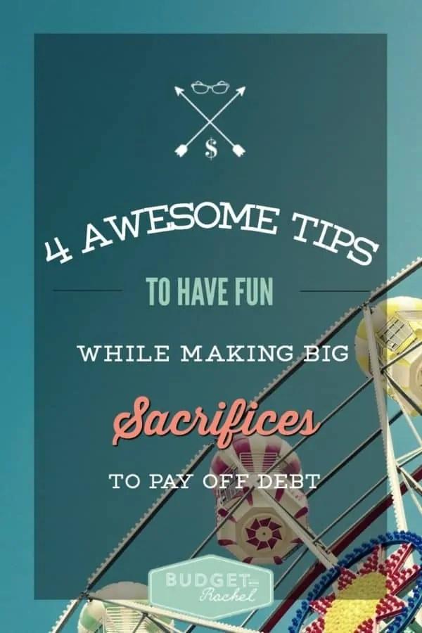 4 ways to still have fun while paying off debt & budgeting   debt payoff   budgeting   #budget #budgeting #debt #debtfree #moneysavingtips