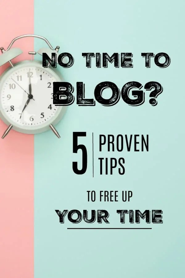 How to Find the Time to Blog When You Have No Time. This is amazing! I have never felt like I could find the time to fit anything else in my day. How do make more hours? Tip #2 gave me 3 extra hours in my day! Tip #4 has been pivotal in keeping me on track with making time to blog. I feel like I have more than enough time now!