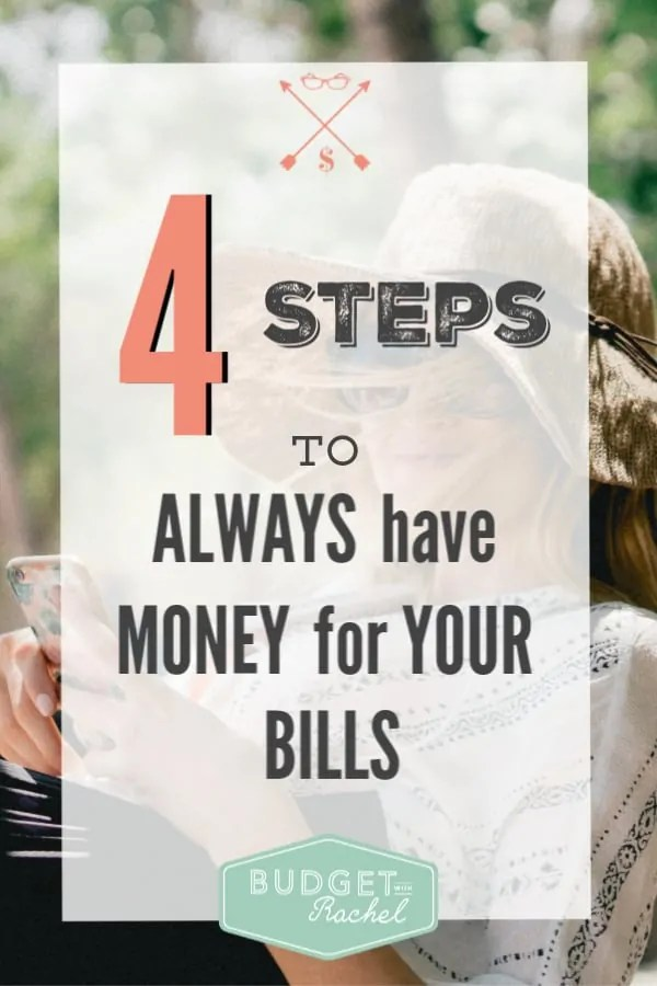 How to stop worrying about paying your bills | how to make sure you always have money for your bills | never overdraft your account again | money saving strategy to get ahead on bills | money saving tips | money saving ideas | how to manage your paychecks to get ahead on bills | personal finance tips | finance hacks #financetips #moneymanagement #moneyhacks #moneysavingtips #budget #freeprintables