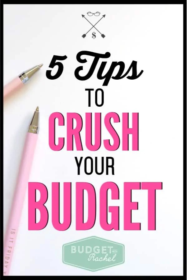 Budgeting always seemed really hard to me at first. But, using these budgeting tips has been so helpful! I have been sticking to my budget every month with these budget hacks! They are awesome! If you need help with your budget, you need to check out these 5 budget tips! #budget #budgettips #personalfinance #freeprintables