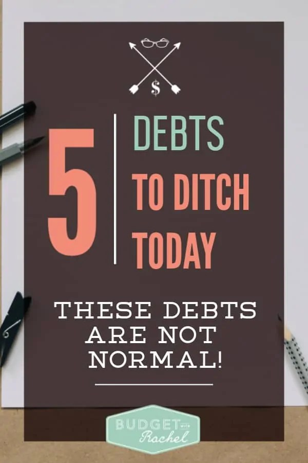 Common debts people think are normal but you should be ditching them immediately | debt to pay off today | debt you should get rid of | debt payoff | debt free journey | avoid these common debt traps | money management tips | personal finance advice | financial freedom #financetips #debtfree #debtpayoff #personalfinance