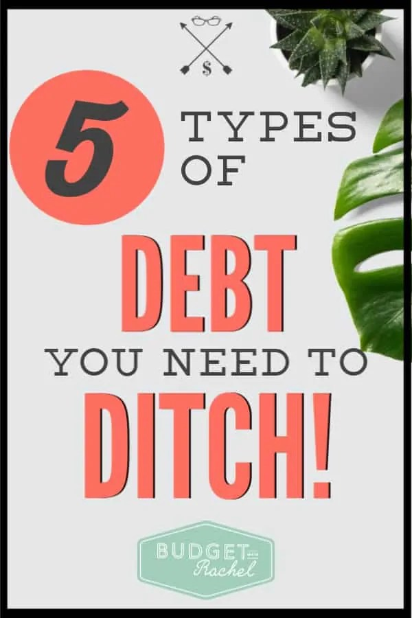 If you have debt in your life, these are the things you should be avoiding. If you are questioning if you are normal, check this out and find out which debt you need to ditch today! #debtfree #debtpayoff #financetips