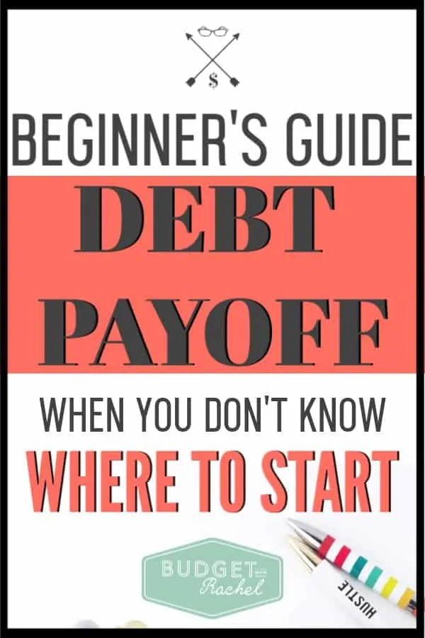 If you want to get out of debt but aren't sure how, it is easier than you think! Follow these simple steps to start your debt payoff journey today. Financial freedom won't seem so far away when you have a simple plan outlined for you! #debtfree #debtpayoff #financialfreedom
