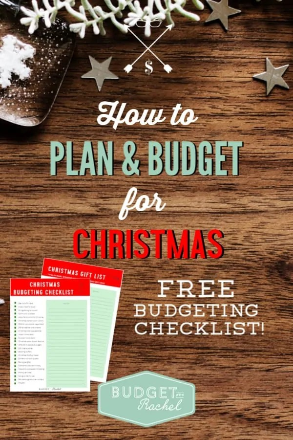 Budgeting for Christmas can be so hard! This checklist is awesome and has kept me on budget this year! I have a plan and a budget for this holiday season and it feels great! #Christmas #budget #budgettips #freeprintables #personalfinance #financetips