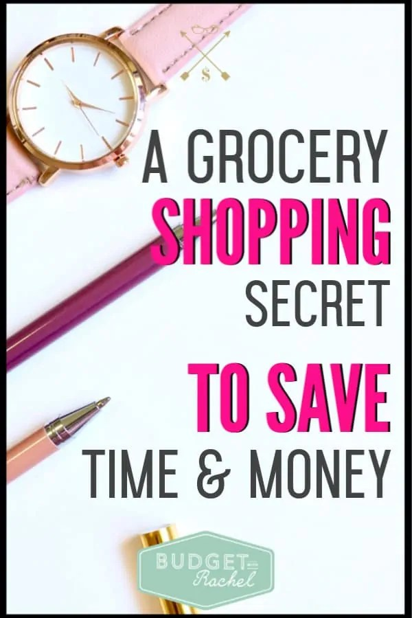 I used to spend so much money on groceries, always go over budget and spent so much time in the store. Since learning this grocery shopping secret, that has all changed! I was able to cut my grocery budget in half and cut my time in the grocery store significantly!! This is a total game changer when it comes to how to grocery shop to save time and money.