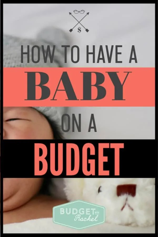 Broke and pregnant? Don't worry! This is exactly what you need to have a baby on a budget! Use this guide to walk you through all your newborn essential for only $165. You can afford to have a baby on a budget. #budget #budgettips #savemoney