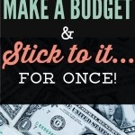 Struggle to budget and make it stick for good? You are not alone! Check out this story and learn how you can start taking steps to put together a budget and stick to it month after month. These step-by-step budget tips will help you be successful with your money! #budget #budgettips #savemoney
