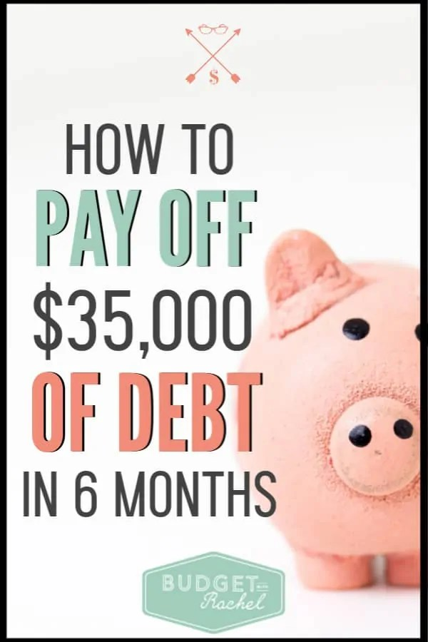 Learn the secrets to paying off debt fast. By implementing these finance tips, you will be able to pay off debt and become debt free. This couple paid off a large amount of debt in 6 months and you can too! #debtpayoff #financialfreedom #debtfree #moneytips #freeprintables