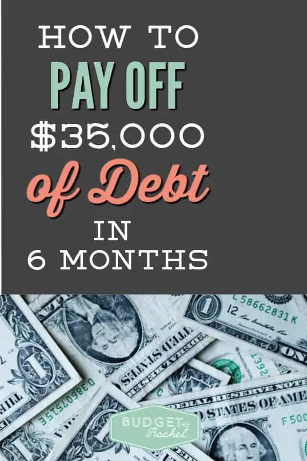 How to pay off $35,000 of debt in 6 months | debt payoff in 6 months | 5 tips to pay off debt | become debt free in 6 months | debt free | financial freedom in 6 months | budgeting for beginners | finance tips | money management tips for couples | dave ramsey | debt payoff #debtfree #debtpayoff #daveramsey #budget #financetips