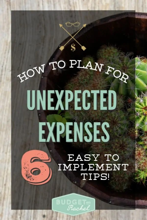 How to plan for unexpected expenses | how to get a plan for those expenses you can't see coming | expense planning for beginners | how to not be surprised by unexpected expenses | expense planning hacks | expense planning tips | stop going over budget with these simple tips | ideas to plan for unexpected expenses #expenses #budgeting #budgettips #moneysavingtips