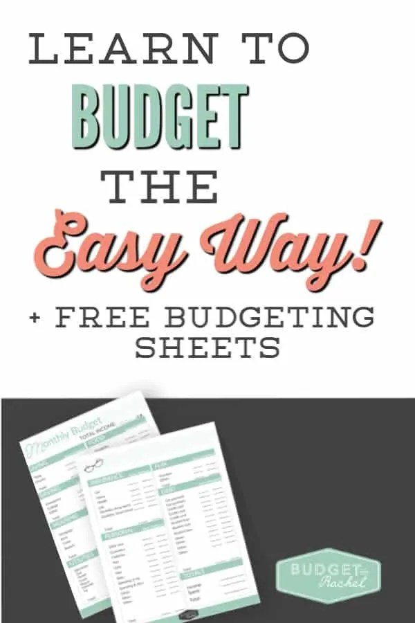Learn how to budget the easy way | budgeting for beginners | budgeting tips if you are new to budgeting | budget setup made simple | simple budgeting hacks | tips to set up your budget without the stress #budget #money #freeprintables #budgettips #personalfinance