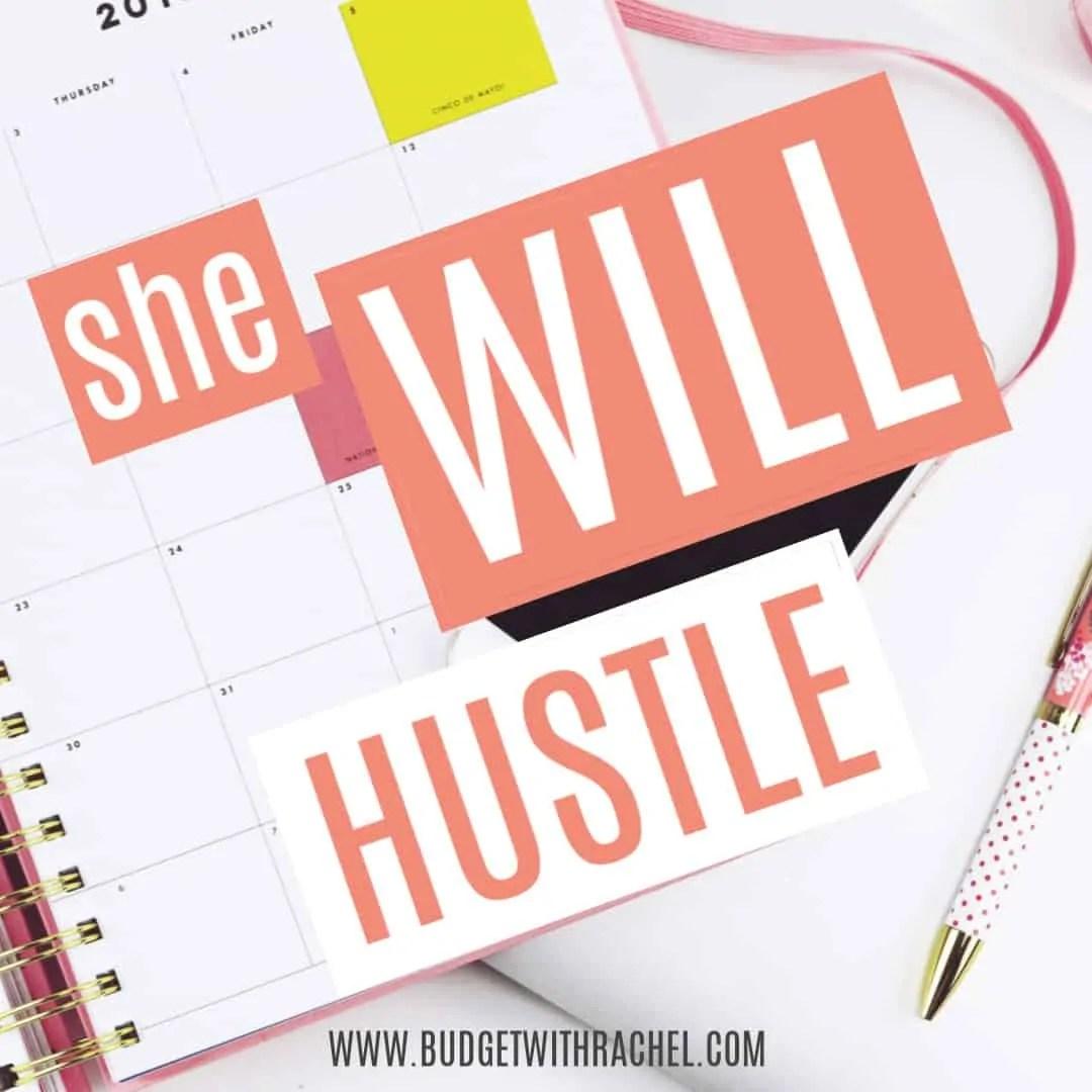 she will hustle