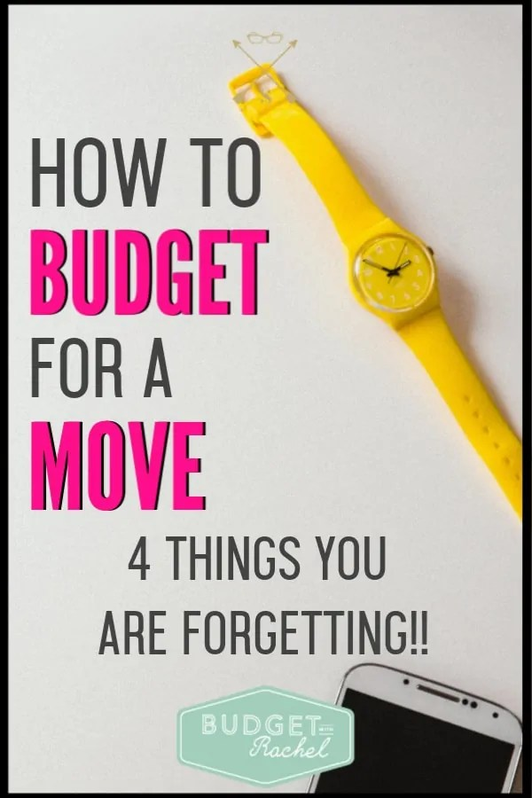 I was moving and had no idea what to budget for! These budgeting tips for moving are amazing! These are budget tips I wouldn't have thought of. By using these moving budget tips, I was actually able to save money. If you are moving, you need to read these budget tips!