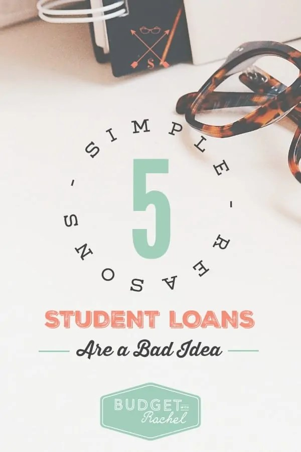 Student loan debt is bad debt | student loan debt #debt #loans #debtsnowball #budget #personalfinance