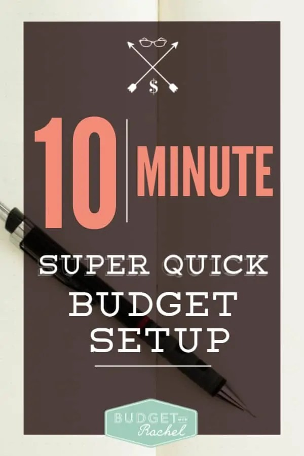 Stop stressing about starting a budget! Set it up in 10 minutes | simple budget set up | budgeting for beginners | basic budget set up | budgeting tips | how to set up a budget fast | money management tips | start budgeting today with a simple set up plan #budget #budgetingmoney #budgetingtips #personalfinance