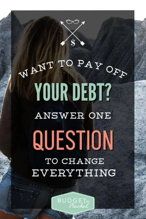 Find out why you want to be debt free | always know why you want to be debt free | find out your debt free purpose | know your debt free purpose #debtfree #debtsnowball #daveramsey #budget