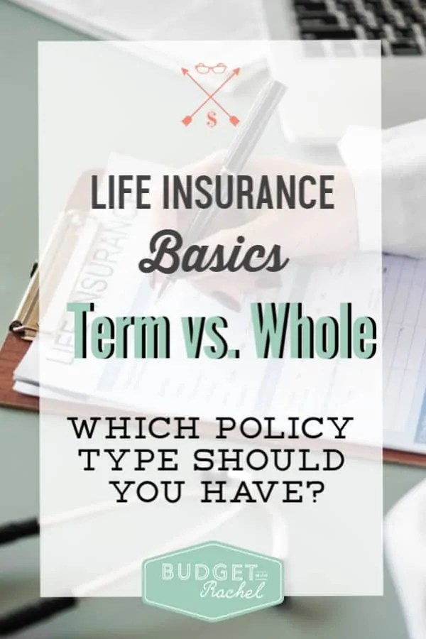 What is the difference between term life insurance and whole life insurance | which life insurance should you have | life insurance simplified | life insurance | term life insurance | whole life insurance | personal finances | finance tips #personalfinance #financetips #lifeinsurance #money