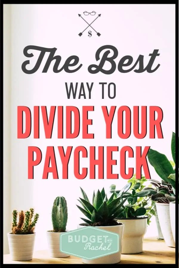 I was so lost on how much money I should be spending in different areas in my budget. This makes it so clear for me! I know what budget categories are and how much of my paycheck should be spent in each category. These paycheck tips are so helpful!