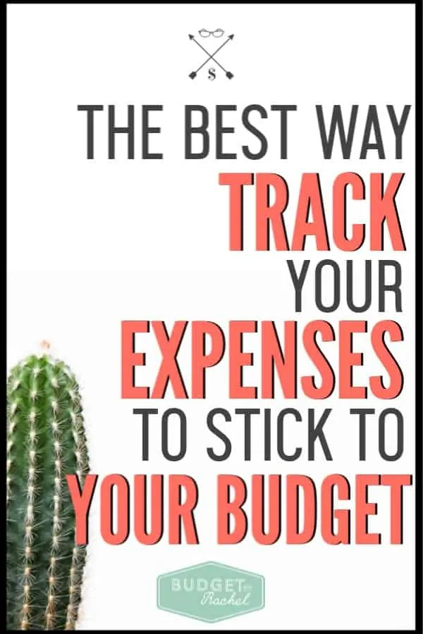 If you struggle to stick to your budget, this is the easiest system to actually use your budget consistently. Tracking your expenses keeps you within budget, and this is the best way to do it! #budget #budgettips #freeprintables