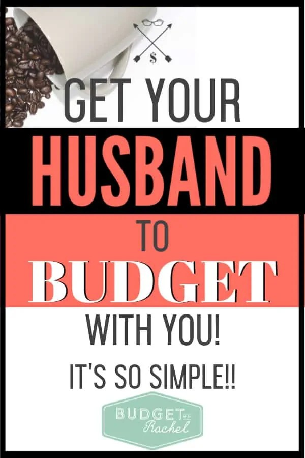 My husband used to be so against budgeting, but after I did this, he was totally on board. Budgeting can seem hard enough when you are just starting, so to have my husband on board for this has just made it so much better. #budget #budgettips #freeprintables
