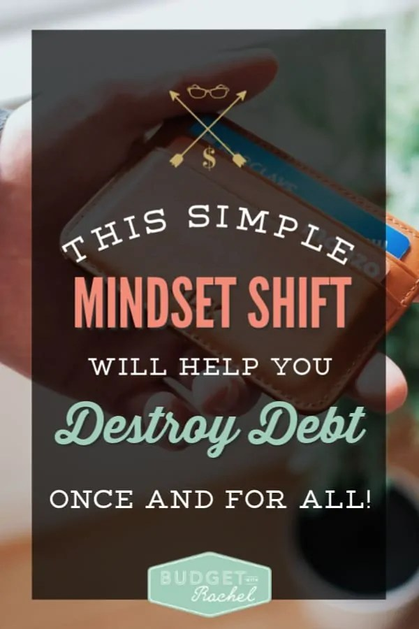 Debt payoff mindset | Become debt free by making one change | Dave Ramsey | Budgeting for beginners | budget tips | change your debt mindset | dump debt | money management tips | finance tips to pay off debt #debtpayoff #debtfree #daveramsey #budget #moneymanagementtips