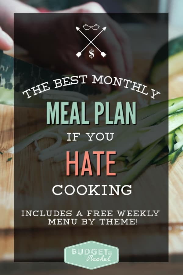 Meal plan for a month | how to meal plan if you don't know how | save money meal planning | meal planning on a budget | save money on food | meal planning for beginners #mealplan #moneysavingtips #budget #freeprintable #mealplanning