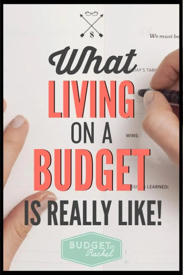 Living on a budget always sounds like this restrictive thing that is going to be really hard. Find out what it's really like! You may just be surprised! #budget #budgettips #personalfinance