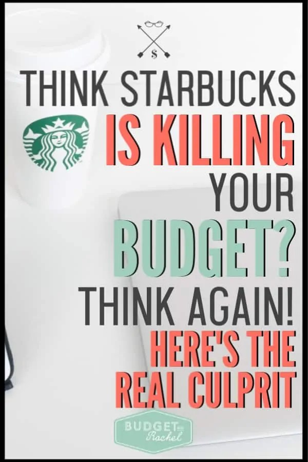It's not just Starbucks that is using up all your money. Find out how to actually make your budget work and what purchases are actually messing you up! Use these budget tips and free printables to get your budget on track. #budget #budgettips #freeprintables