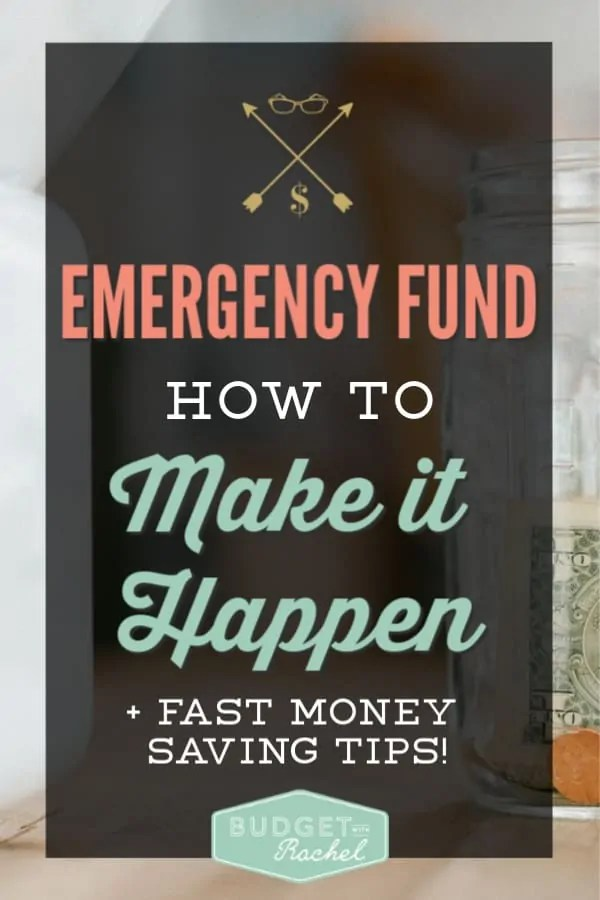 Emergency fund how to | why you need an emergency fund | why you should have $1,000 for emergencies in savings | how to save $1,000 for an emergency fund | beginner budgets need an emergency fund | budgeting tips | budgeting for beginners | save money tips | save money ideas | finance tips | personal finance hack #budget #budgettips #savemoney #money