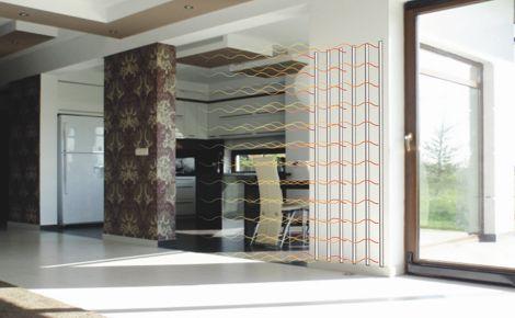 System FERIS zapewnia idealny komfort w ogrzewanym pomieszczeniu