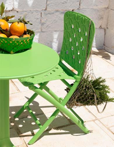 Meble ogrodowe z tworzywa sztucznego