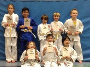 Judo Gürtelprüfung