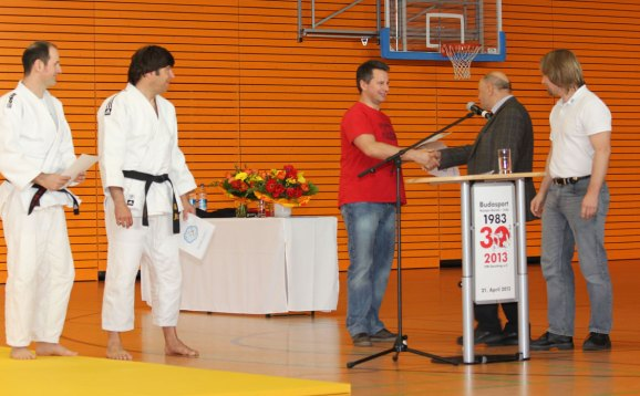 Judo Ehrung