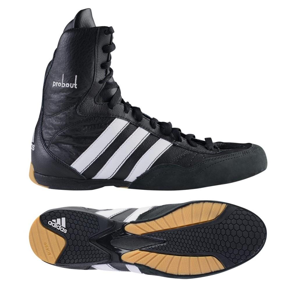Welcome to Budomartamerica - Martial Arts & Combat Sports Distributor adidas Boxing Probout Leather Shoes Welcome to Budomartamerica - Martial ...