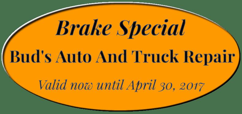 Spring 2017 Brake Sale