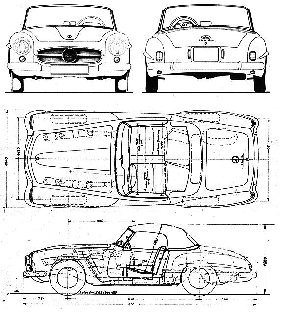 Bud's Benz : Catalog : 190 SL