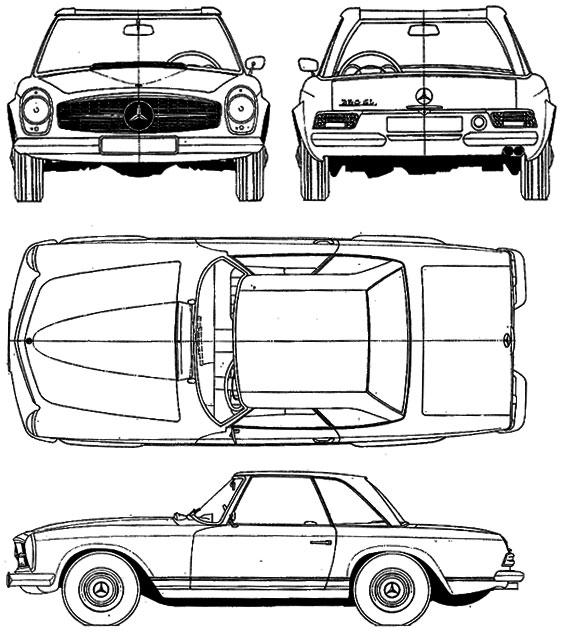 Bud's Benz : Catalog : 230 250 280 SL