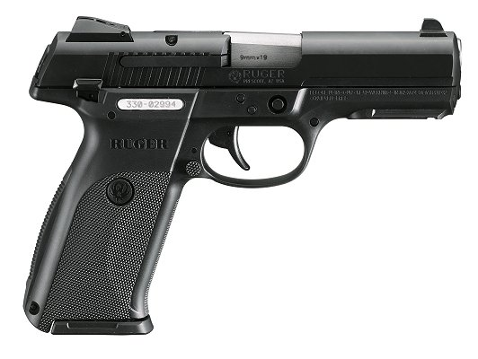 Ruger Sr9 9mm Black Stainless 433 00